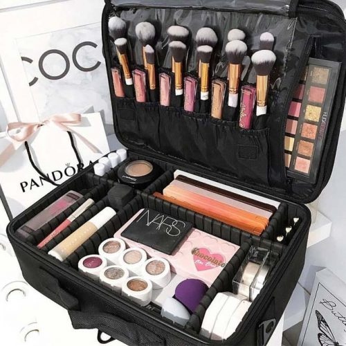 How To Organize Your Beauty Items For Travel #travelorganizer