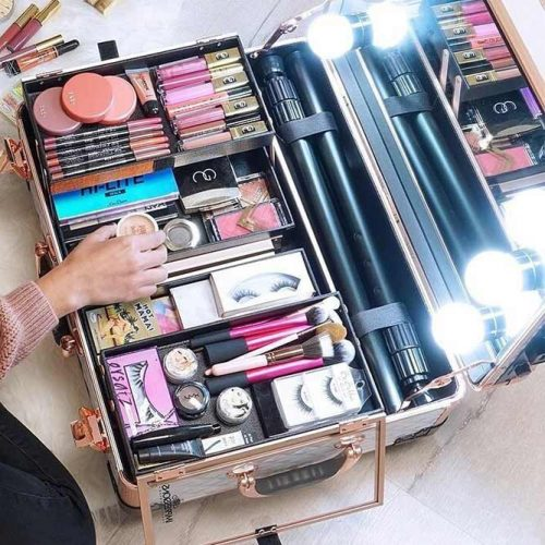 Makeup Travel Case With Lights #travelcase