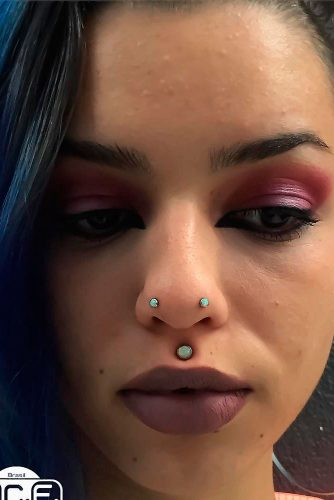 Austin Bar Nose Piercing #austinbarpiercing