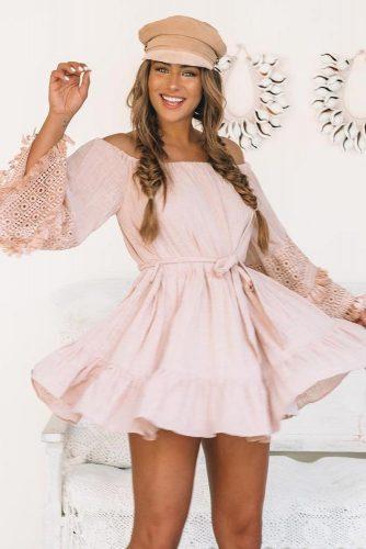 Short Summer Boho Dress Design #bohodress