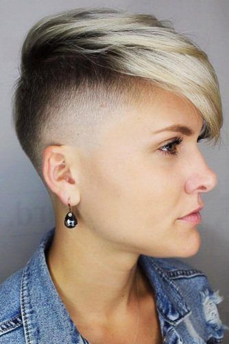 Mohawk Haircut For Straight Hair #pixie #straighthair #undercut