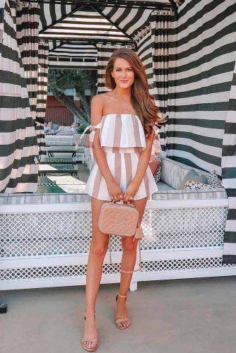 Striped Linen Jumpsuit #casualoutfit #jumpsuit