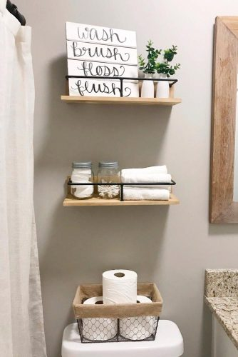 Wooden Shelves #rusticshelves