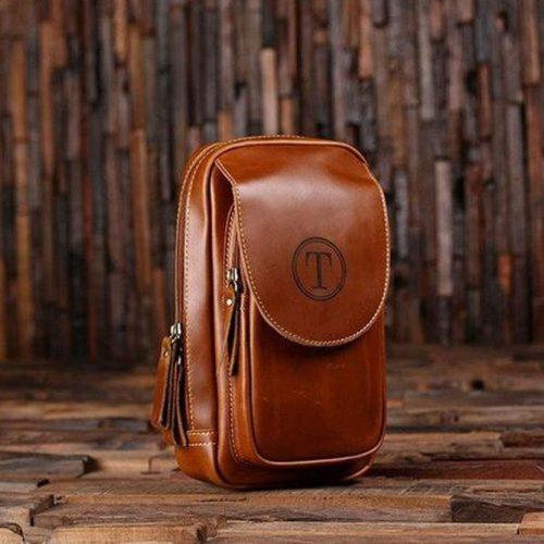 Gentleman's Dopp Leather Groomsmen Kit #leatherbag #doopkit