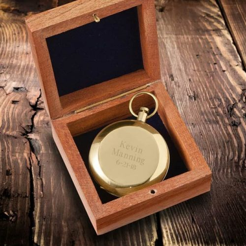 Engraved Compass Is A Thoughtful Gift #compass #personalizedgift