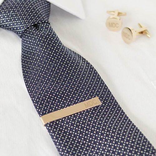 Cufflink & Tie Clip Set For Perfect Wedding Party Look #tieclips #cufflink