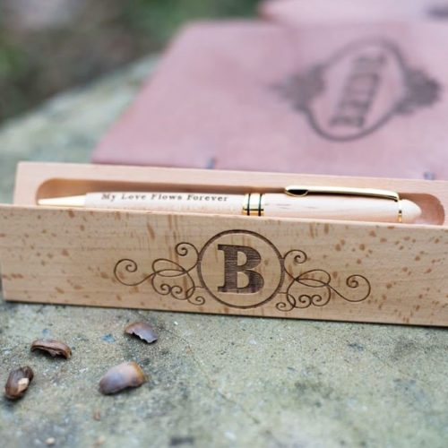 Wooden Pen And Holder #woodenpen #holder