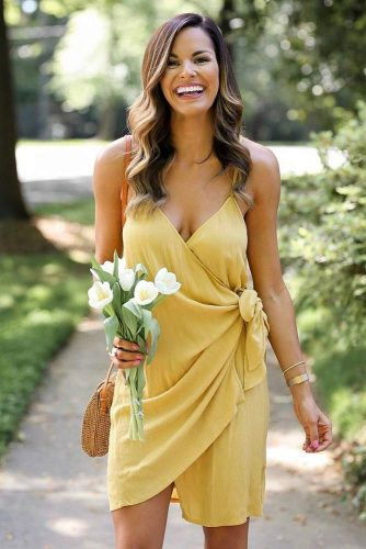 Simple One Knotty Frock #simpledress