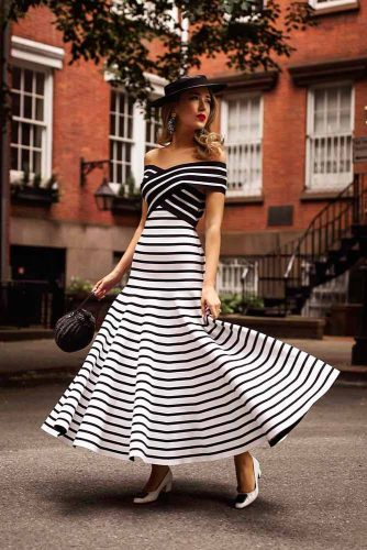 Elegant Retro Style Dress #retrostyle #retrooutfit #formaldress