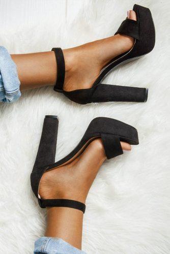 Open Toe Platforms Heels #platformheels