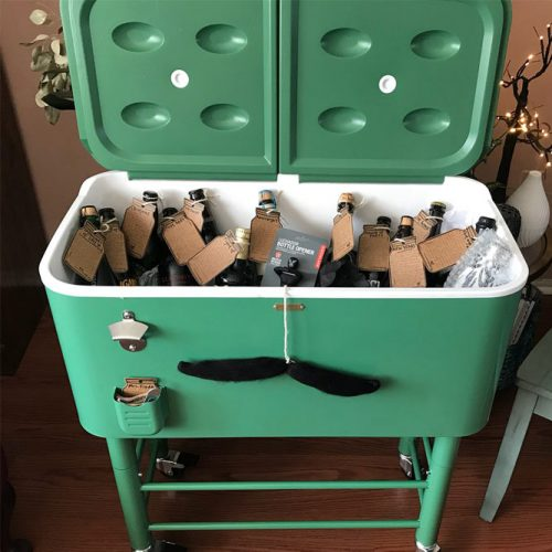 Retro Cooler Gift Idea #cooler