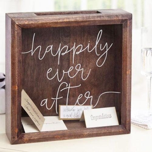 Keepsake Box Gift Idea #keepsakebox #cardbox