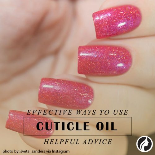 Cuticle Oil As A Means Of Resuscitation In Complex Nail Care #handcare #perfectnails