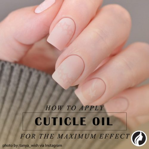 How To Apply Cuticle Oil For The Maximum Effect #nailscare #nailskeeping
