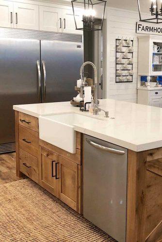 Modern Kitchen Décor In Farmhouse #modernkitchen