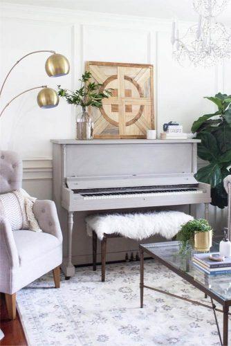Modern Living Room Design #farmhouselivingroom