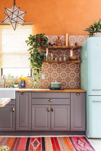 Vintage Kitchen Décor Idea #vintagekitchen