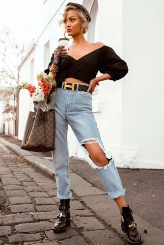 High Waisted Everyday Outfit #casualoutfit