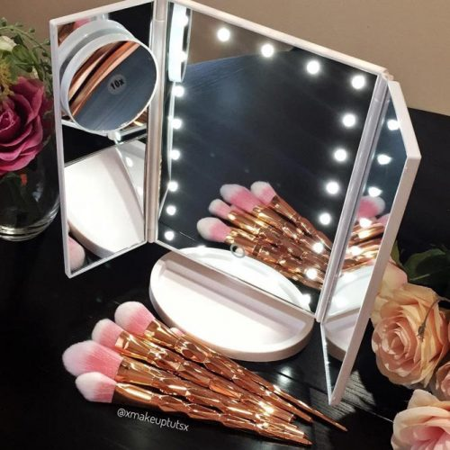 Three Magnifying Mirrors In One #magnifyingmirror
