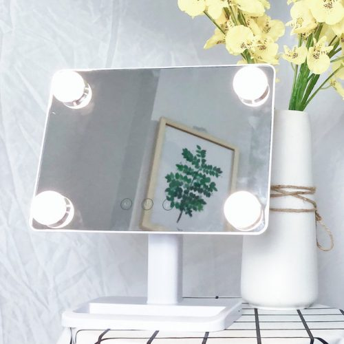Cool And Warm Lighted Mirror Design #coollight #warmlight #bubblelights