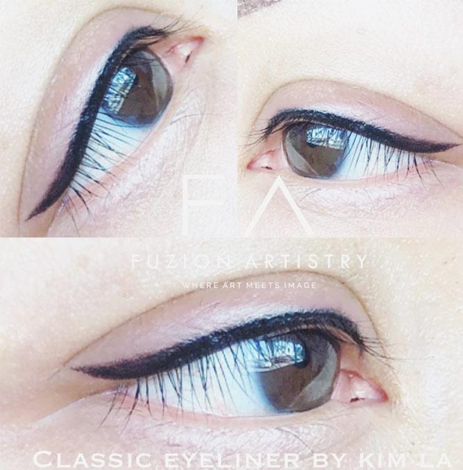 Pin Up Permanent Eyeliner #pinupeyeliner #blackline