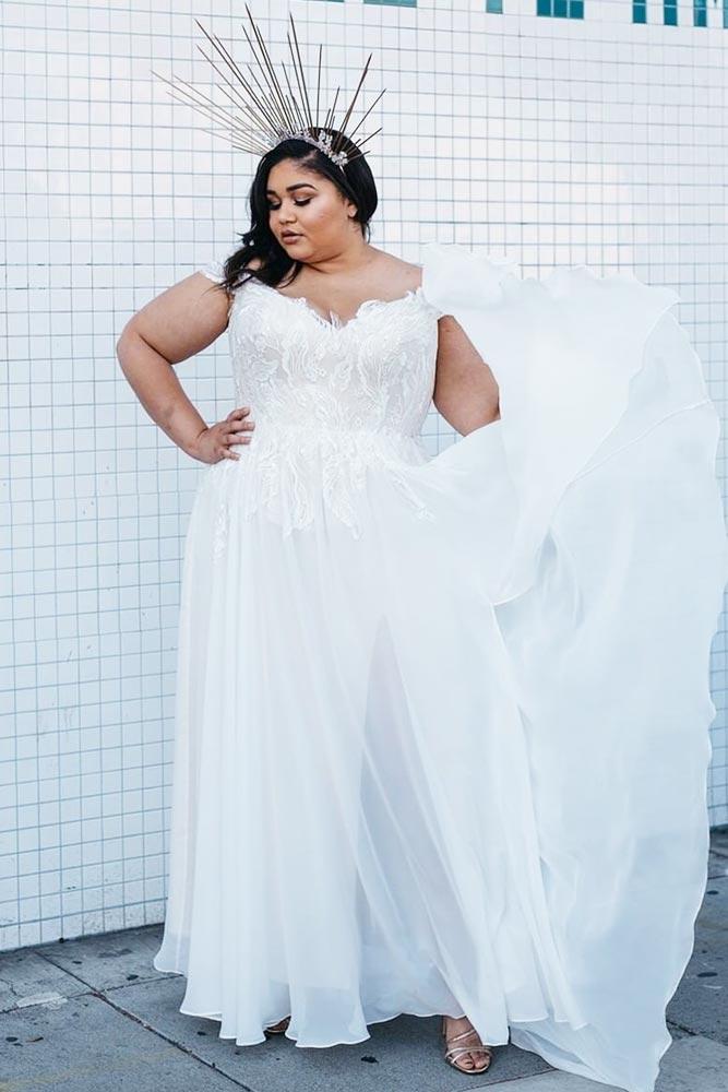 Simple Boho Wedding Dress #simpledress