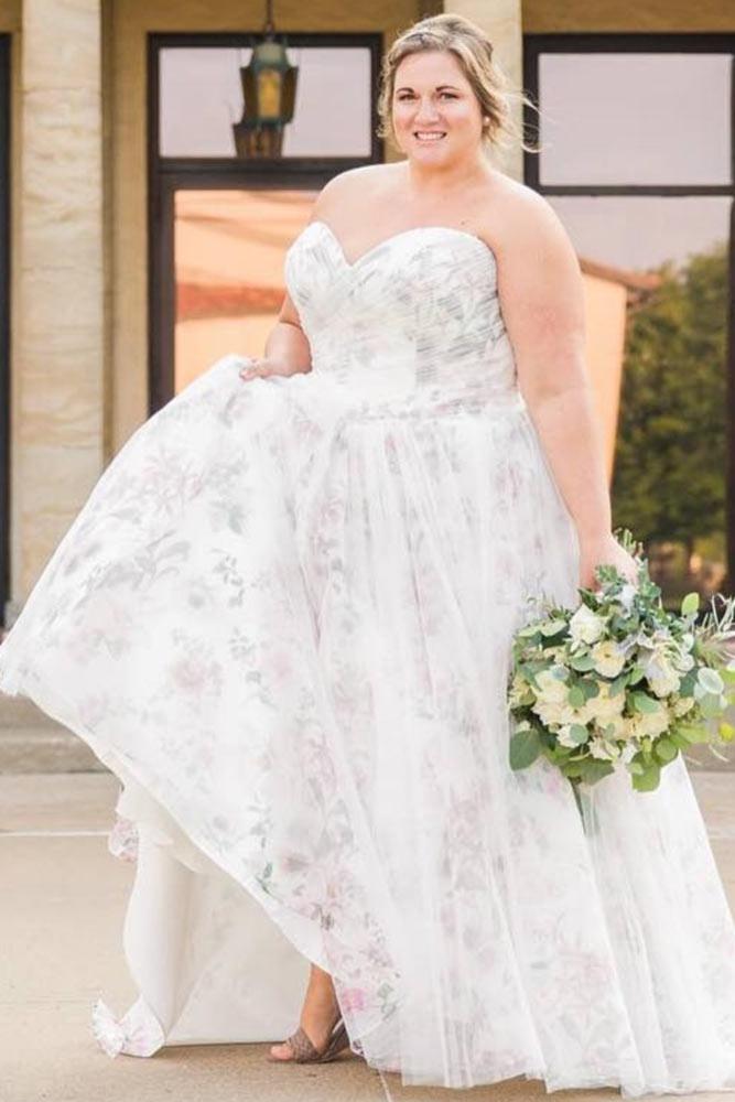 Floral Wedding Dress Design #floralweddingdress