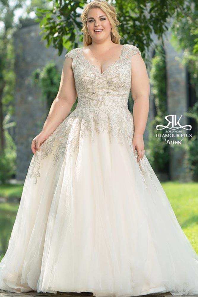 Champagne Colored Wedding Dress #champagneweddingdress