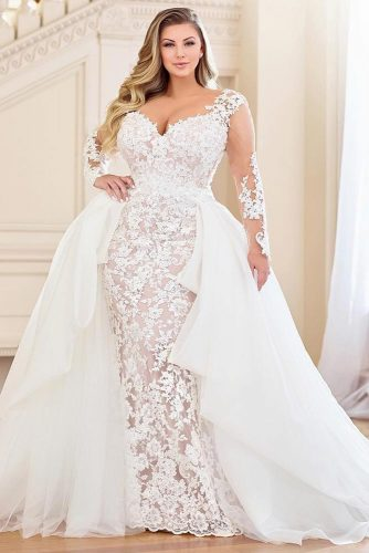 3 In 1 Wedding Dress Design #mermaid #tulledress