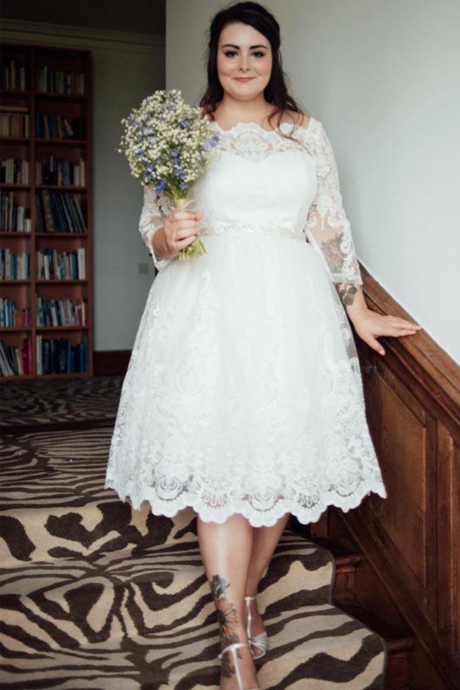 Simple Midi Dress Design #mididress #lacedress
