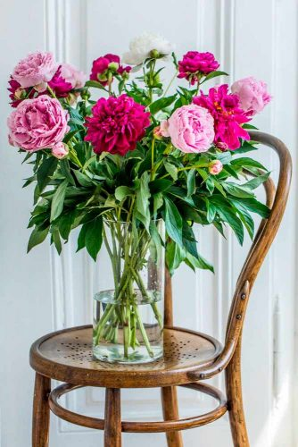 Peony – Absolute Beauty and Perfect Fragrance #peony #bouquet