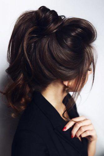 Ponytail Hairstyles #updo #longhair #ponytail