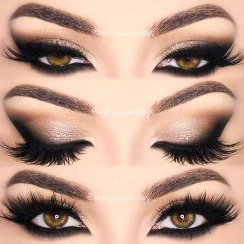 Smokey Cat Eyes Makeup For Almond Eyes #smokeymakeup #cateyes