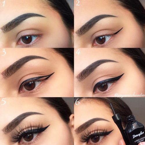 Classy Eyeliner Tutorial #classyeyeliner #eyestutorial