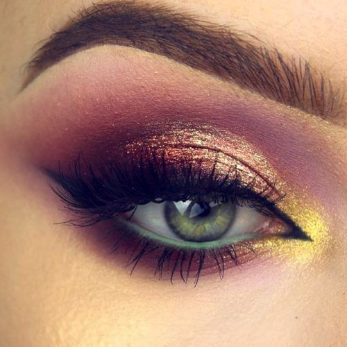 Smokey Eyes Makeup With Cat Eyeliner #smokeyeyes