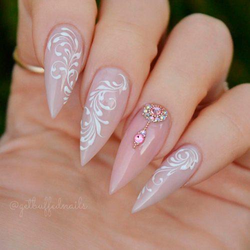 Acrylic Nails #acrylicnails #longnails #naildesigns