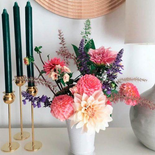 Arrange Fall Flowers #fallflowers #prettyflowers