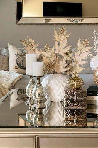 Sparkly Gold Indoor Décor #homedecor