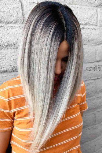 Platinum Balayage #blondehair #balayage