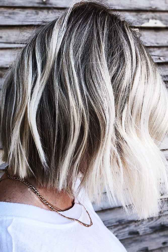 Salt And Pepper #blondehair #brunette