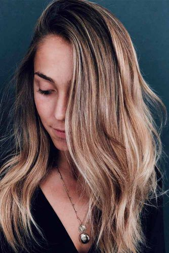 Blonde Melted Balayage #hairhighlights #balayage