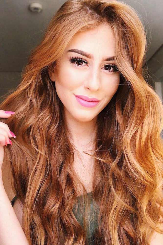 Vibrant Copper Hair Color #redhair #copperhair