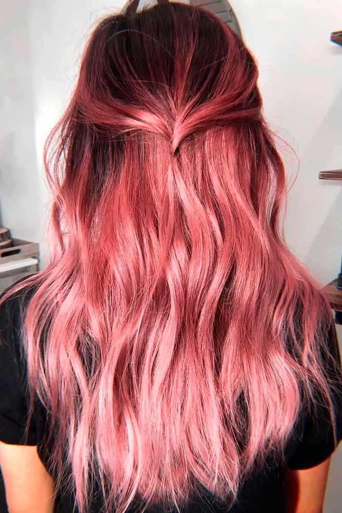 Rose Gold #rosegoldhair #coloredhair