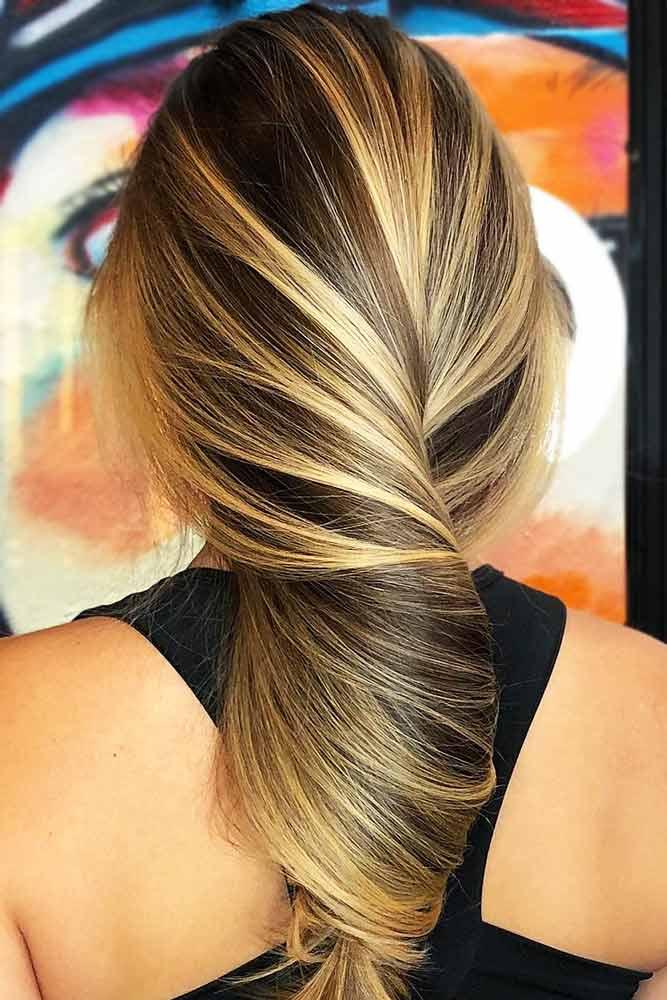 Tiger Eye #brunette #blondehair #highlights