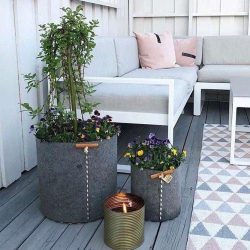 Eco-pots Designs For Front Porch Decor #flowerpots