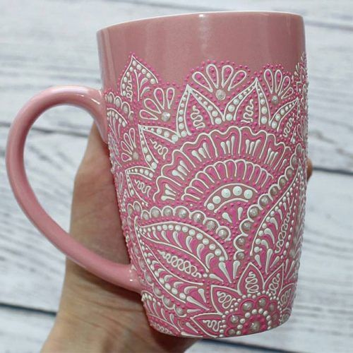 Painted Cup Gift Idea #cupgift