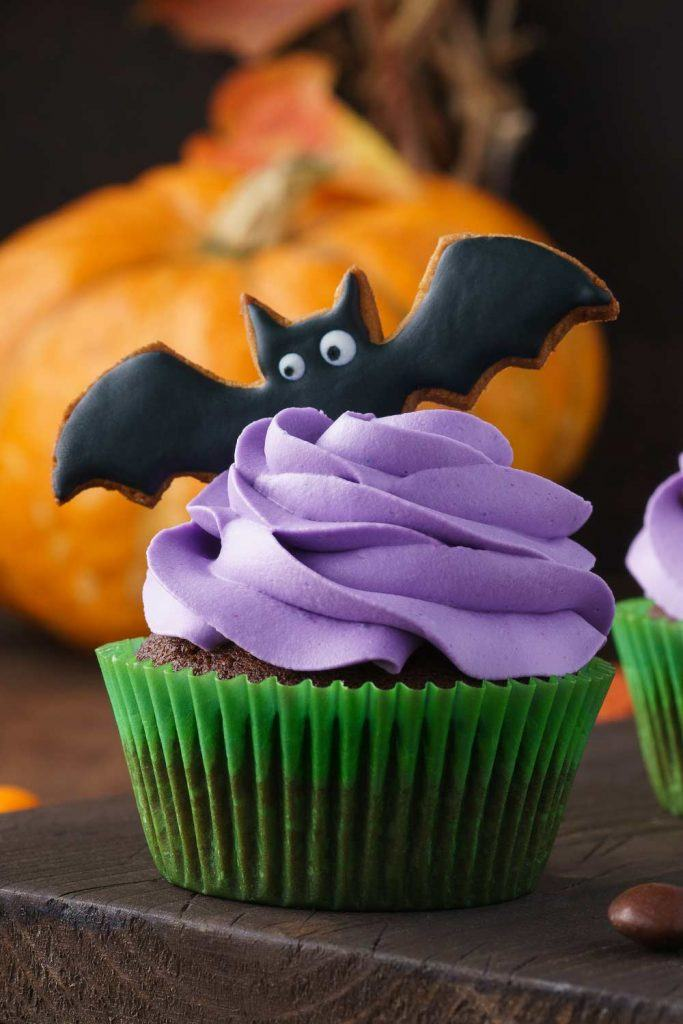 Cupcake Bat Decor