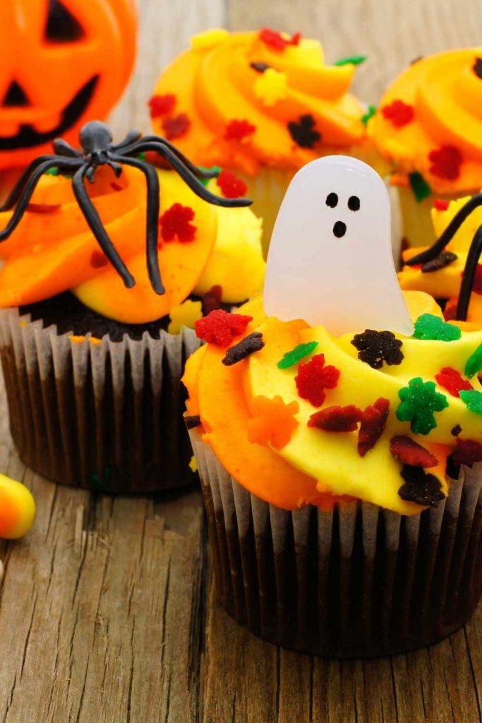 Cute Ghost Cupcake