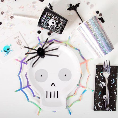 Happy Halloween Table Décor Ideas #tabledecor #partydecor
