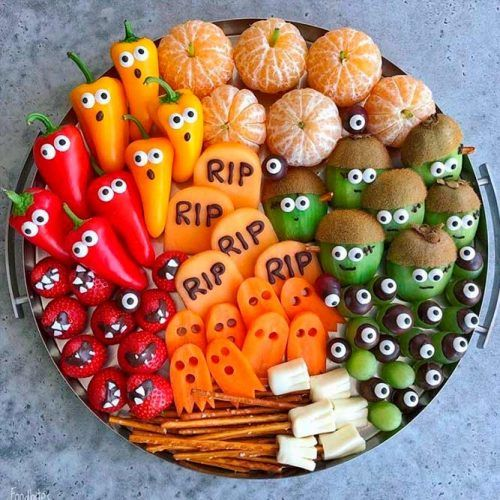 Healthy Halloween Treats #partyfood #halloween #partyfood